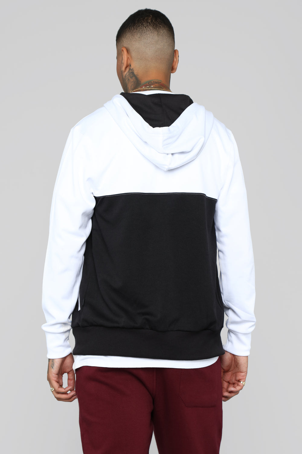 """Track Meet"" Jacket - Black/White"