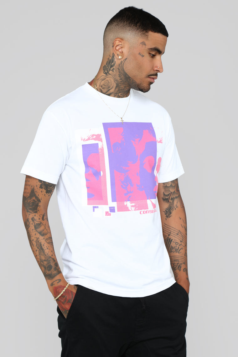 Consequence Short Sleeve Tee - White