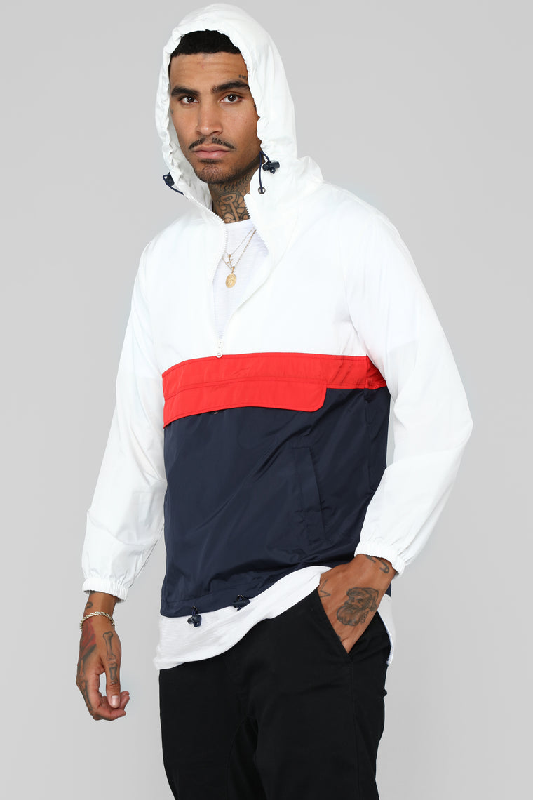 The Takeover Windbreaker - Navy/combo