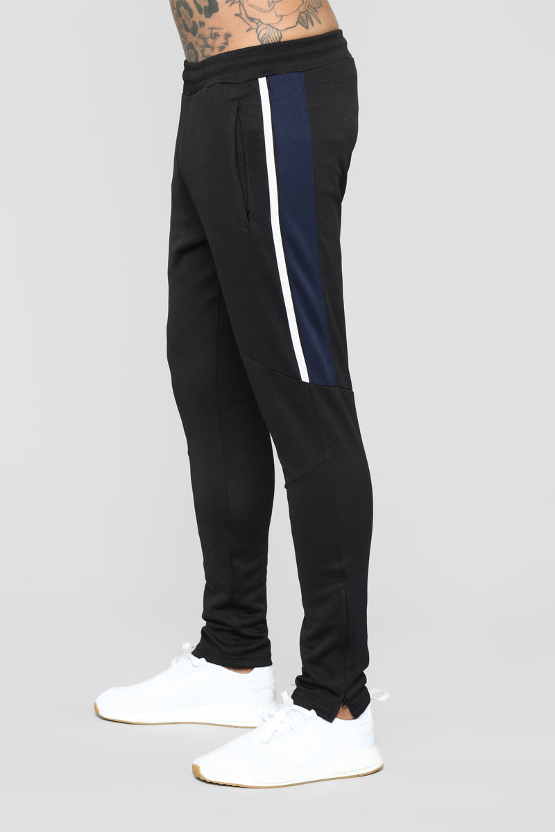 """Trackie"" Joggers - Black"