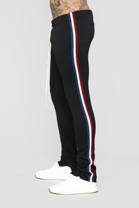 Mulholland Drive Track Pants - Black