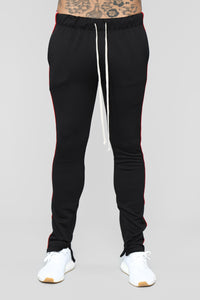 Griffith Track Pants - Black