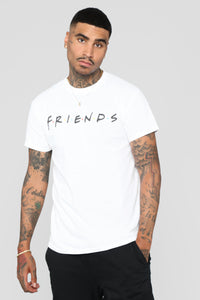 Friends Short Sleeve Tee - White