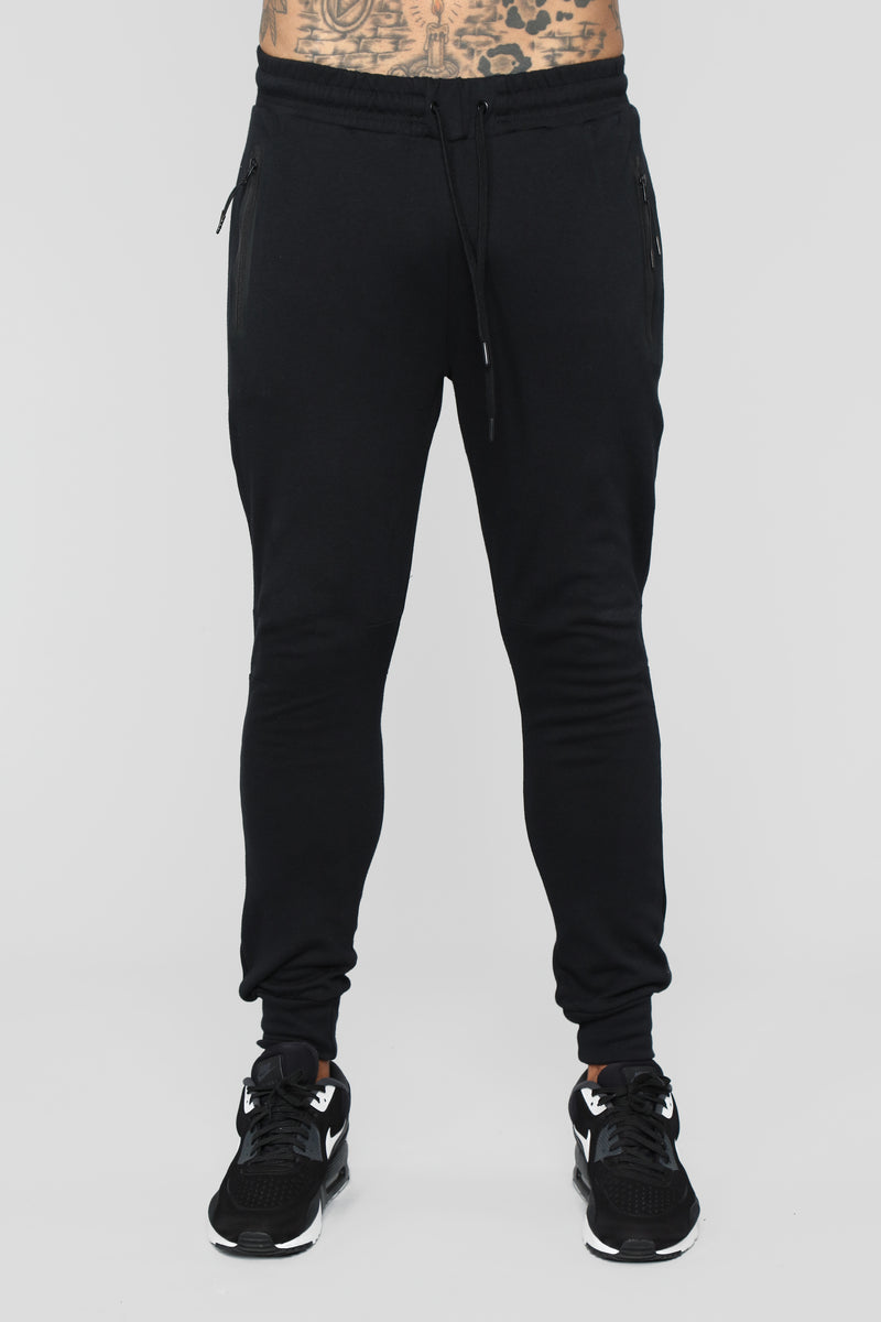 Ronny Sweat Pant - Black