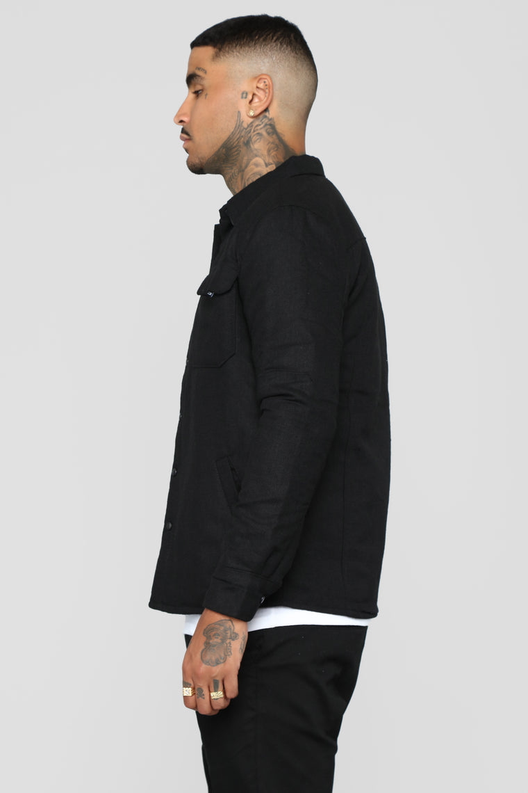 Will Workwear Casual Jacket - Black