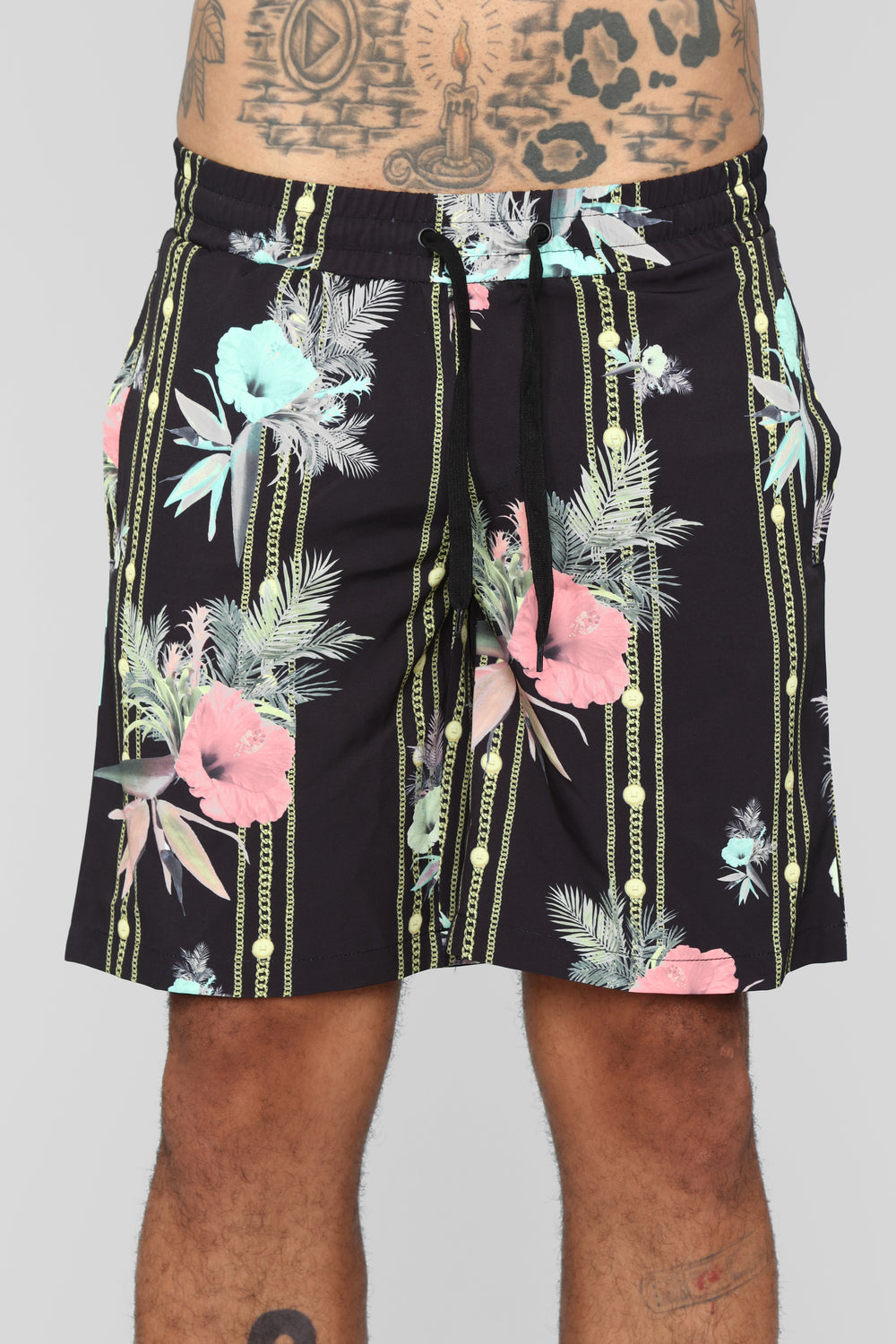 The Don Shorts - Black/Combo