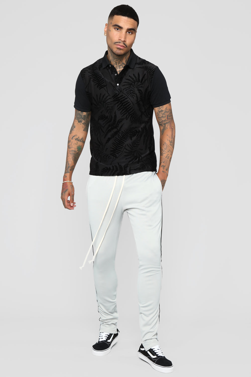 Breezy Short Sleeve Polo - Black