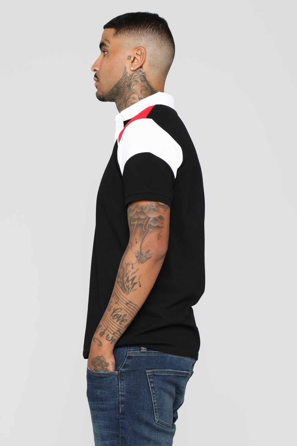 Victor Polo - Black/Red