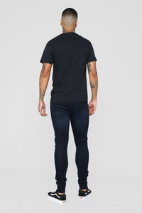 Luxury Short Sleeve Tee - Black