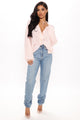 Baby Girl Cropped Cardigan - Pink