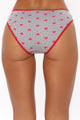 Perfect Fit Cotton Bikini 3 Pack Panties - Red/combo