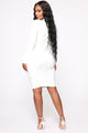 Another Dream Midi Dress - White