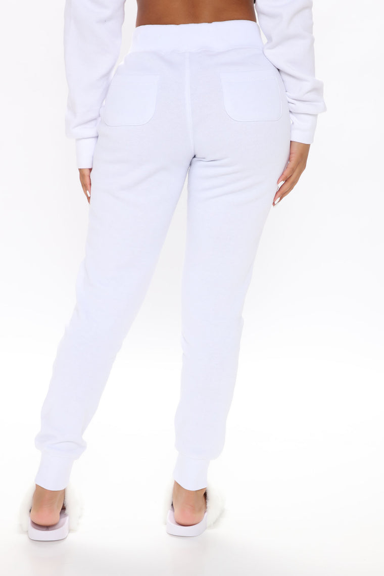 Relaxed Vibe Joggers - White