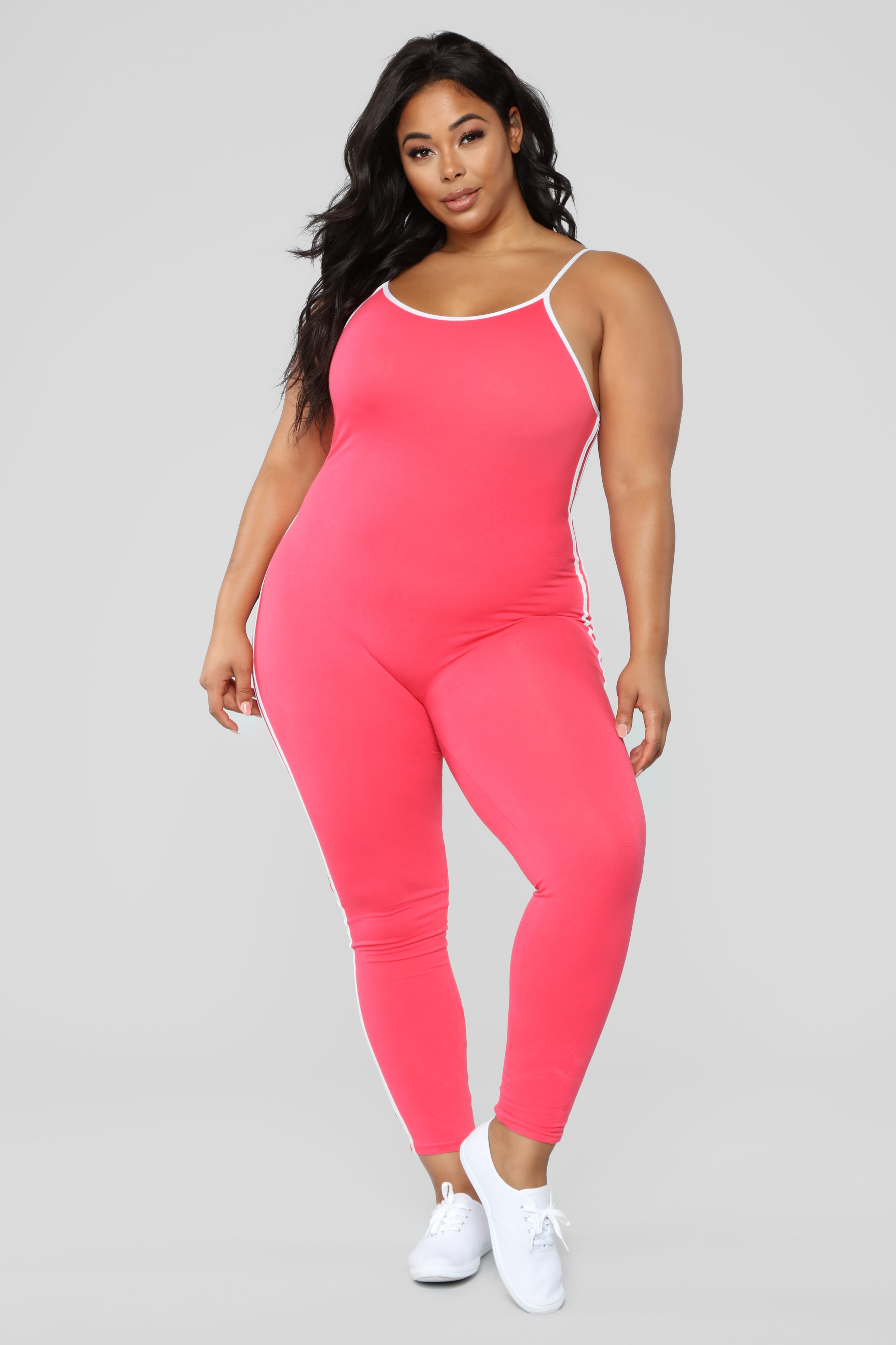 df74e47b184 Post Gym Selfie Jumpsuit - Coral