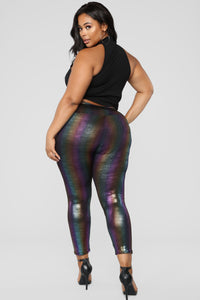 Pot Of Gold Leggings - Multi Angle 11