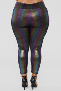 Pot Of Gold Leggings - Multi Angle 12