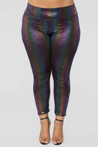 Pot Of Gold Leggings - Multi Angle 8