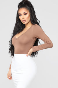 Voted Most Popular Bodysuit - Mocha