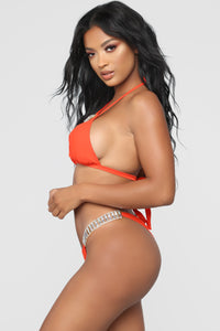 Caribbean Luxury Bikini - Orange