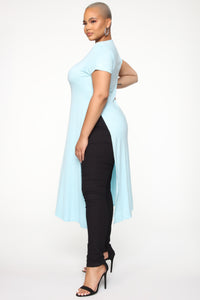 Under Exposed Tunic - Powder Blue