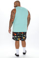 Nature Boy Volley Trunk - Black/combo