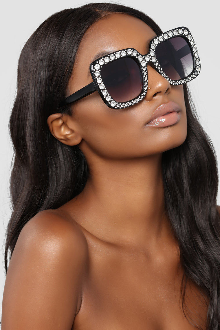Just Lovely Sunglasses - Black