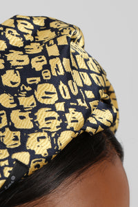 All In Your Head Wrap - Yellow