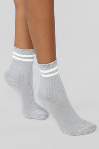 Part Of The Crew Socks - Grey