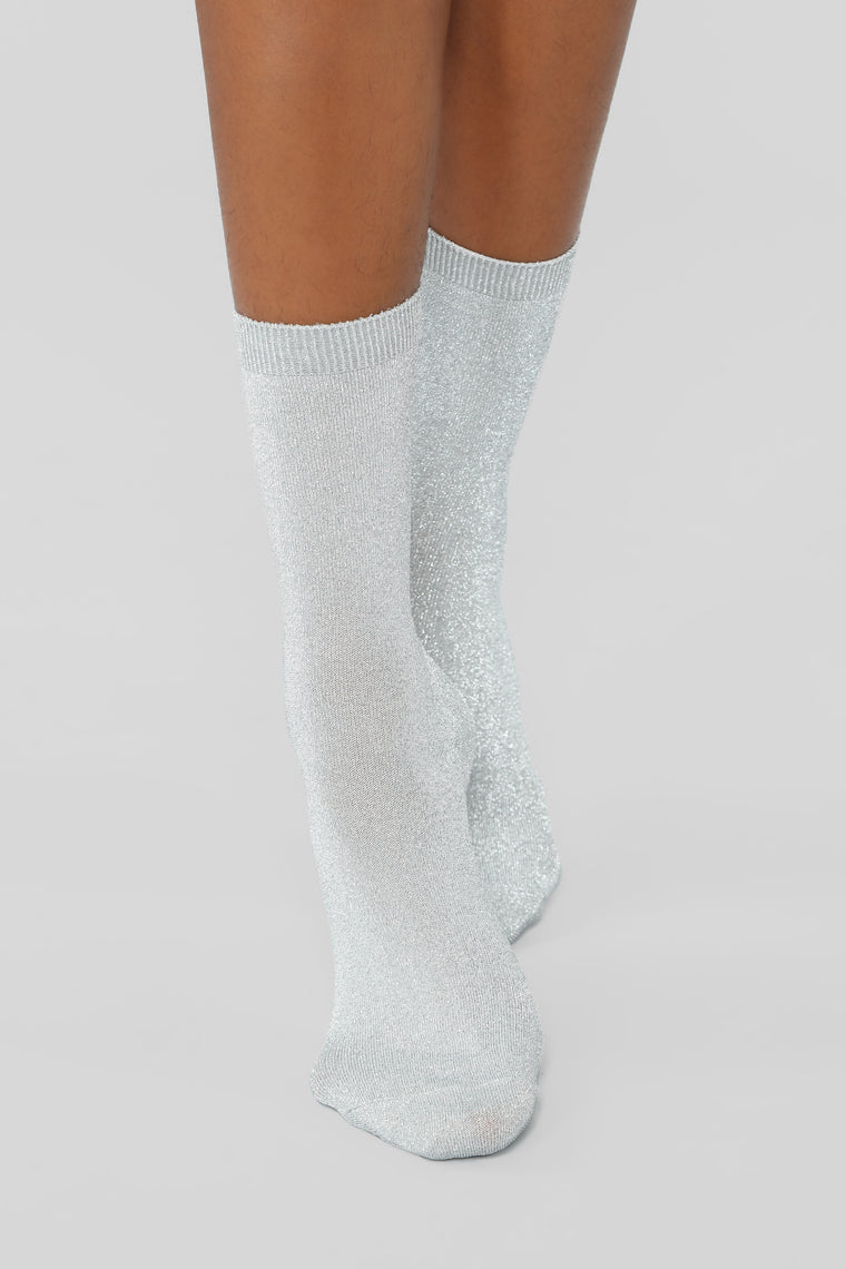 My Own Crew Socks - Grey