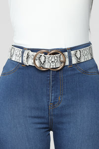 Seeing Double Belt - Black/White