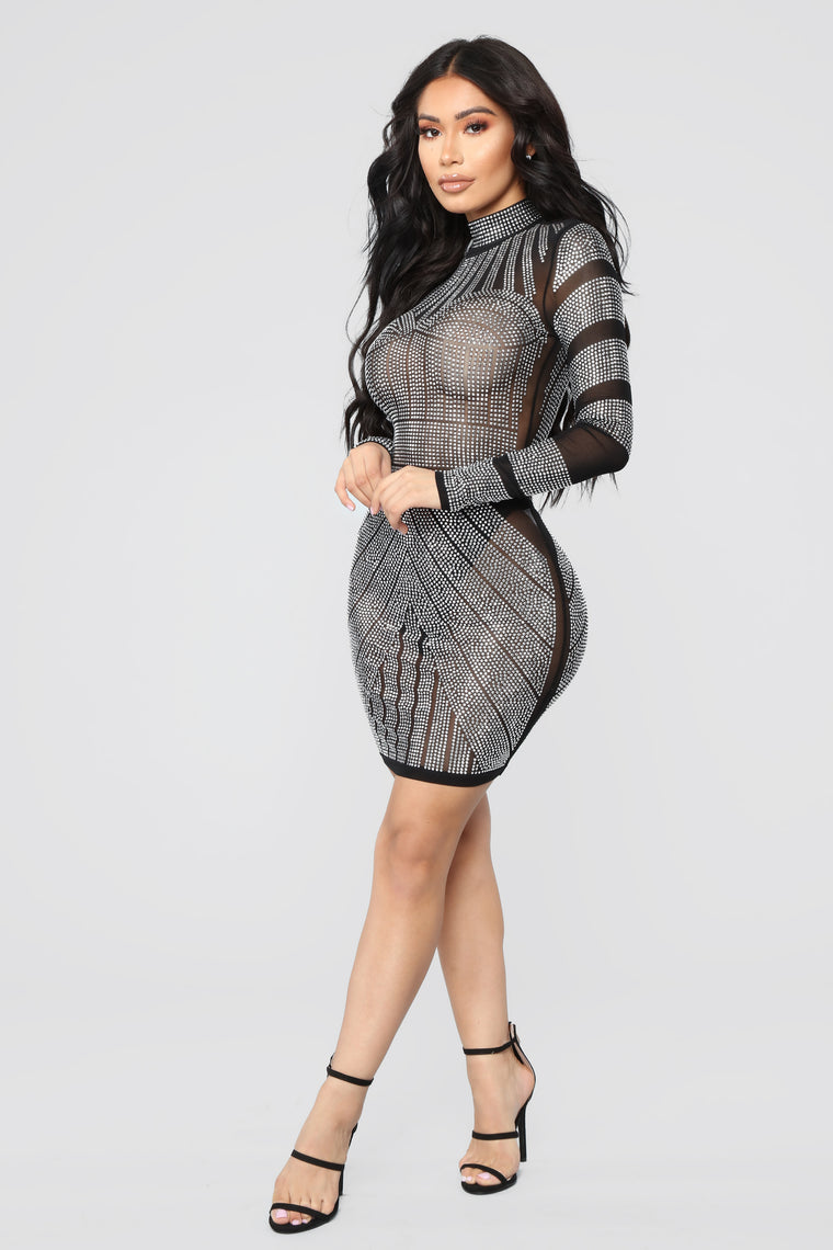 Luxe To The Max Mini Dress - Black