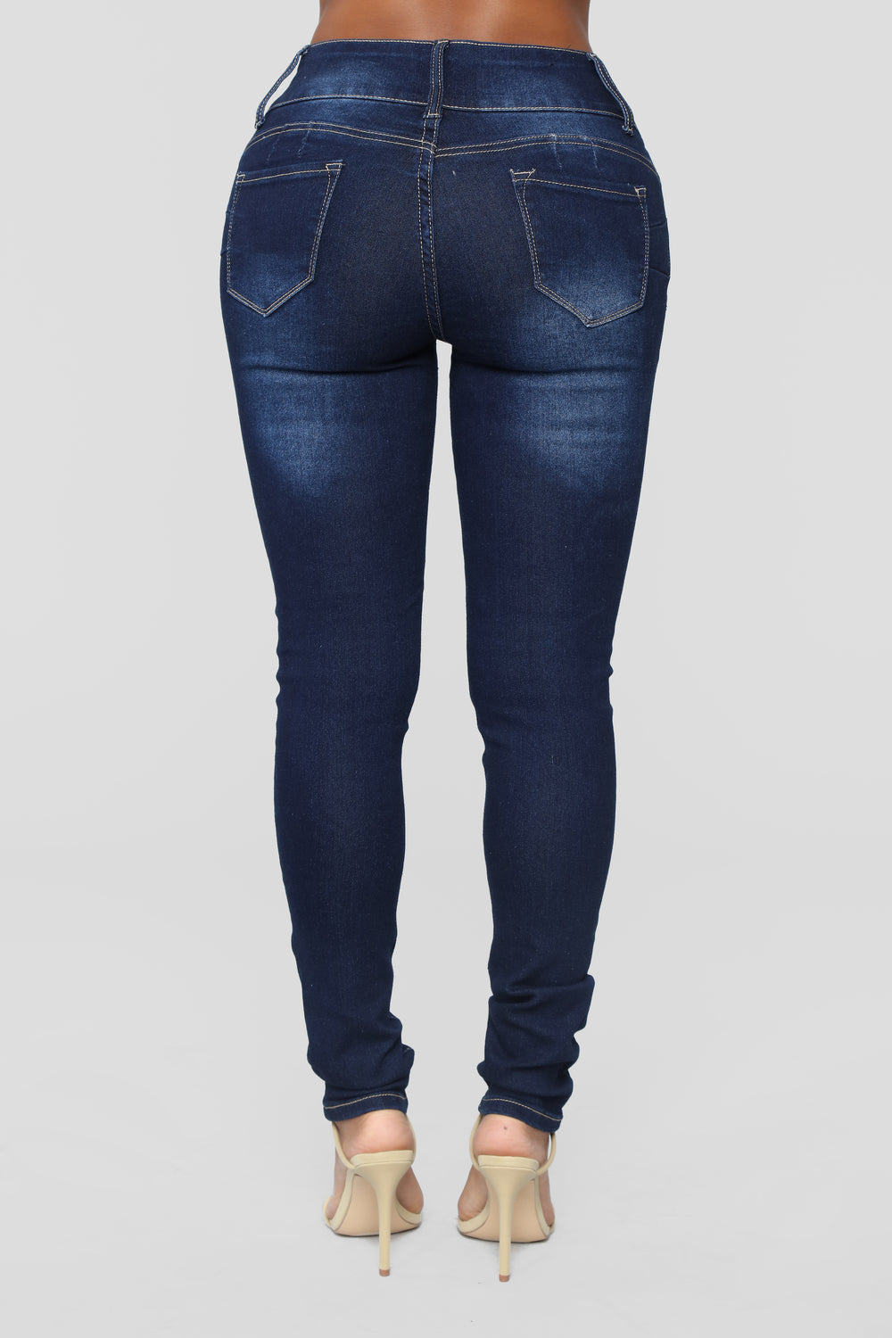 Keeping Secrets Booty Lifting Jeans - Dark Denim