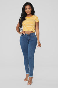 Don't Distress About It Jeans - Medium Wash