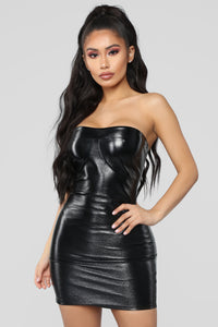 Baddies Only Mini Dress - Black