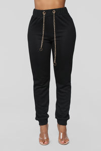 Chain Gang Jogger - Black
