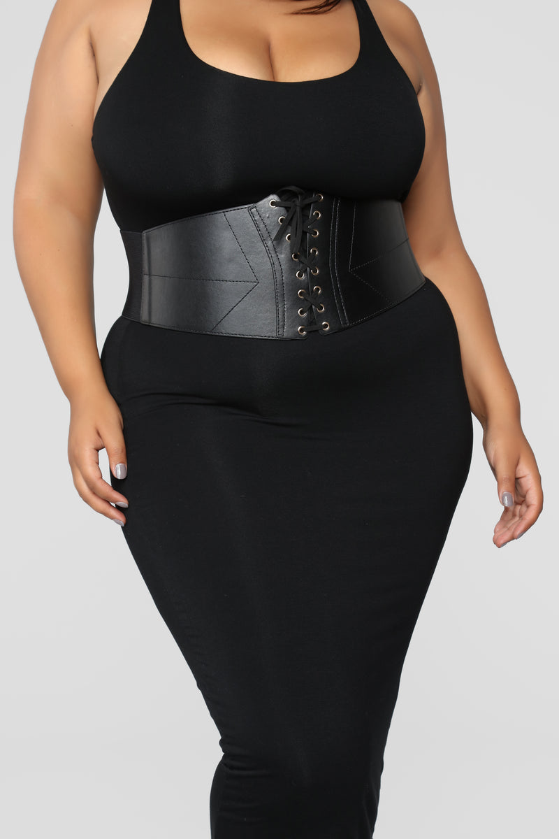 What Do You Prefer Corset Belt - Black