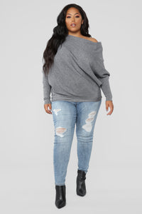 Karly Sweater - Grey
