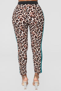 The Animal Within Pant Set - Leopard