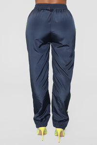 Handle With Care Joggers - Navy
