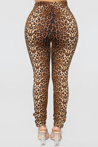 Can't Get Enough Lounge Set - Leopard