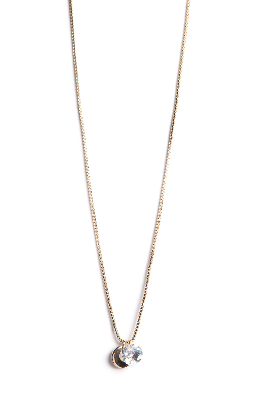 Love It Or Leave It Necklace - Gold