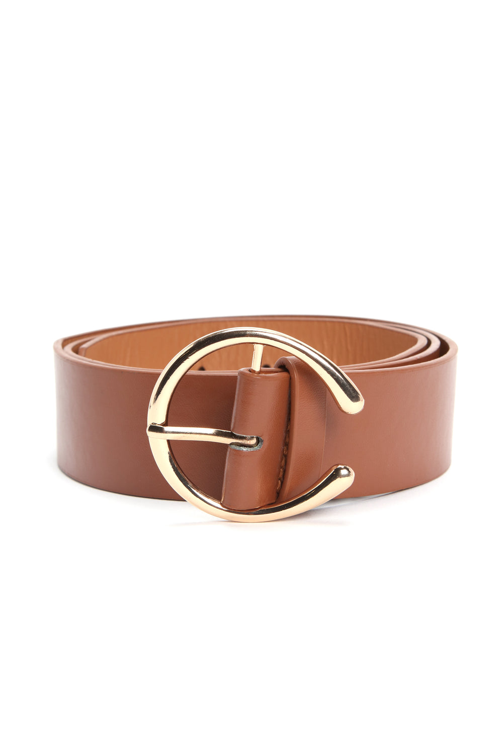 Cresent Moon Belt - Tan
