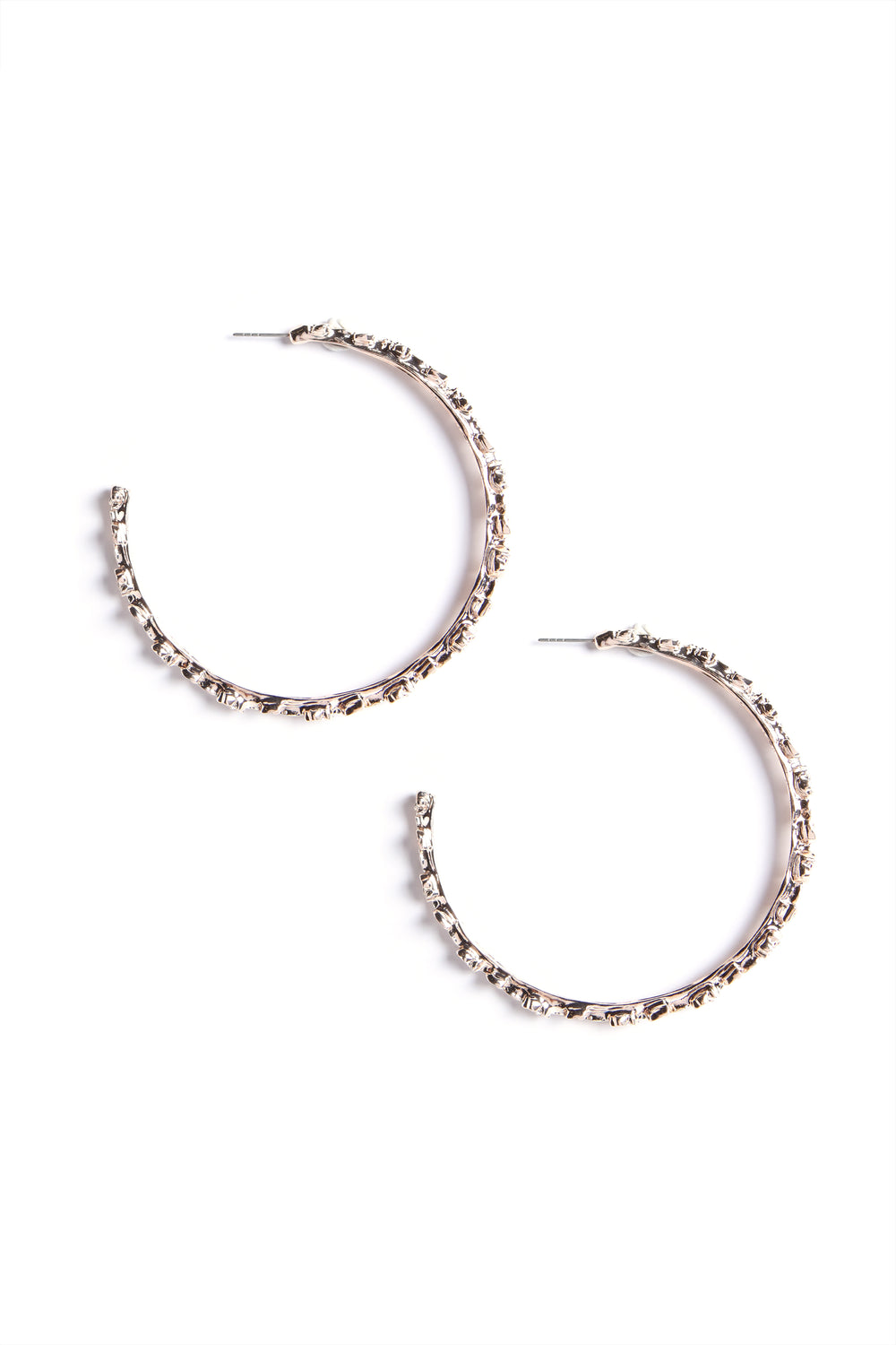Bloom Hoops - Rose Gold