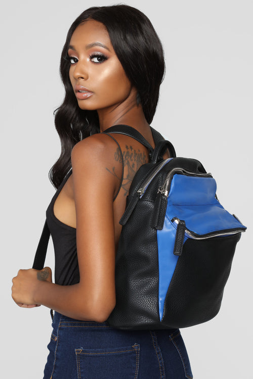 bf3ebabb2f Don t Part From Me Backpack - Blue Black