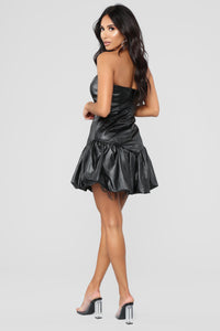 Bad Gal Mini Dress - Black