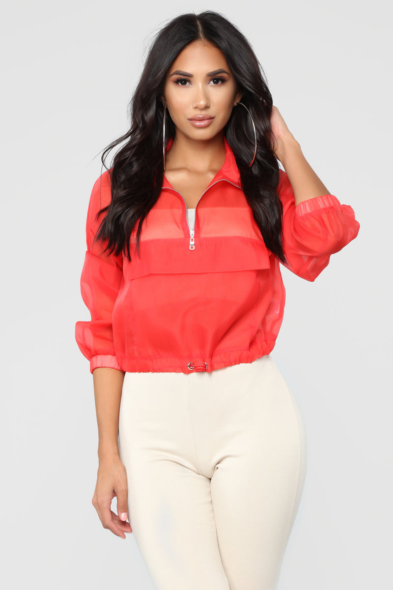 Come Alive Jacket - Red