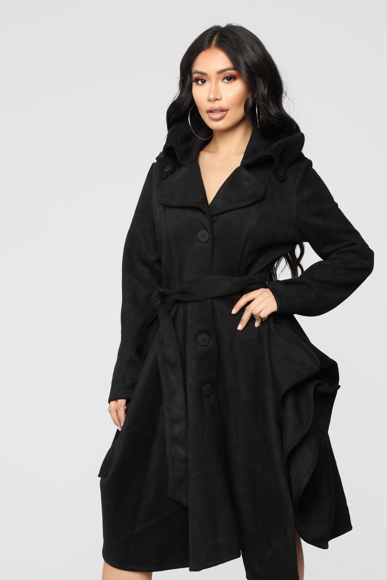 Make Moves Coat - Black