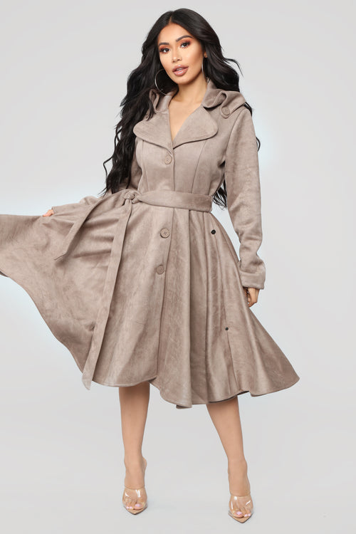Make Moves Coat - Mocha