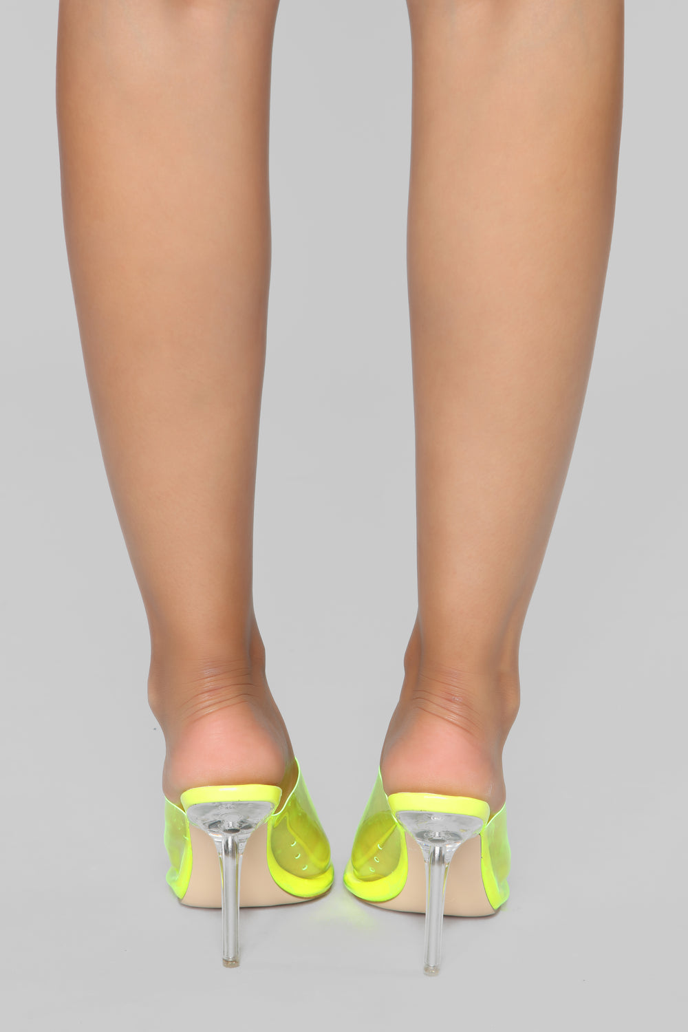 Stop Killing My Vibe Heeled Sandal - Yellow