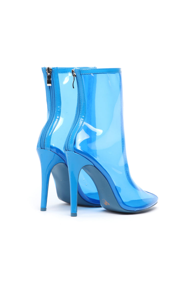 She's The One Bootie - Blue